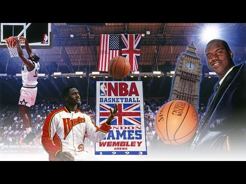 First EVER NBA Game In London | Magic vs Hawks | 10.30.1993