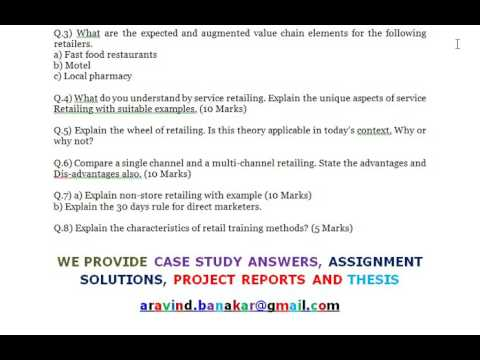 Retail Management 2 Explain Non Store Retailing With Example Youtube