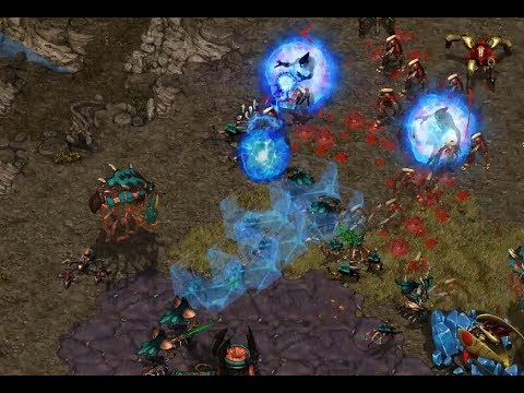 Yayba (P) V HayprO (Z) On Destination - StarCraft  - Brood War REMASTERED