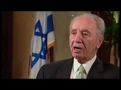 Talk to Jazeera - Shimon Peres - 27 Sep 08 - Part 1