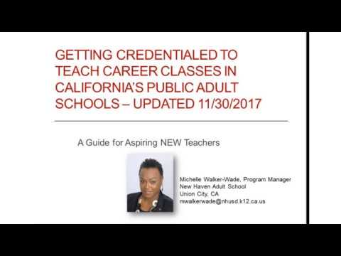 getting-credentialed-to-teach-career-classes-in-california---updated