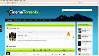 How to download movies from the new site CinemaTorrents
