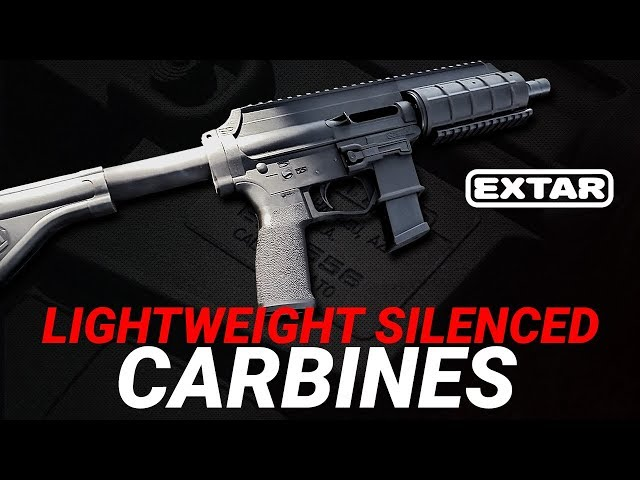 Lightweight 10mm and 45ACP Carbines Silenced