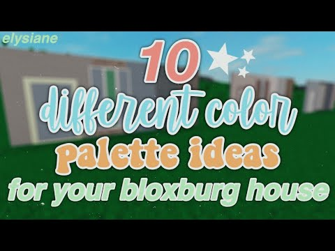 roblox-|-10-different-color-ideas-for-your-bloxburg-house