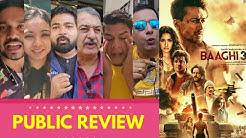 Baaghi 3 Movie PUBLIC REVIEW | First Day First Show | Tiger Shroff, Shraddha Kapoor,Riteish Deshmukh