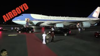 Air Force One Taxi Out Pearl Harbor-Hickam