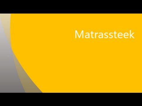 Naai Gebreide Stukken Naadloos Aan Elkaar Met De Matrassteek Youtube