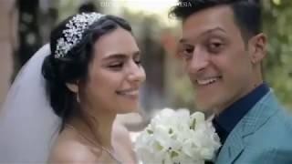 Mesut Ozil & Amine Gulse Wedding - Thinking Out Loud