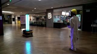 robot-blasts-uv-light-fight-virus-mall