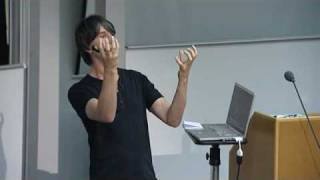Star Lectures: Professor Brian Cox (part 1 of 5)