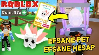 97 REBİRTH VE EFSANE PET İLE OYUNA BAŞLADIM ! Roblox Pet Ranch Simulator / Roblox Türkçe