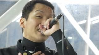 2015.11.30@奈良遠征初日 ぱんち☆ゆたか パンチパーマに学ランがトレー...