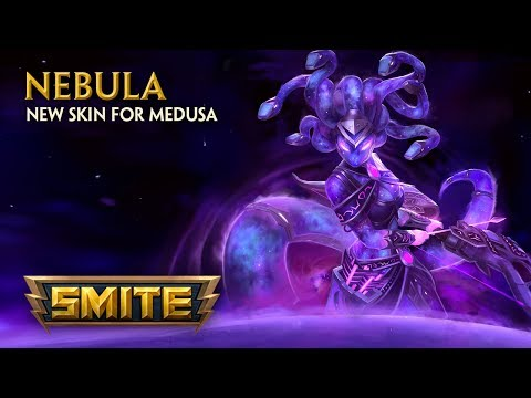 SMITE - New Skin for Medusa - Nebula