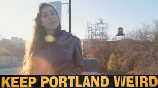 Unapologetically Portland - Urban Foraging, Truffles, Live TV and Music (and good vegan food) - S2E6