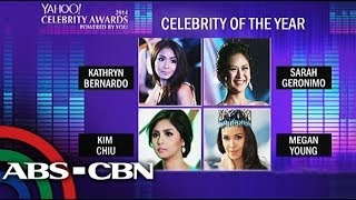 Kapamilya stars, shows nominated for Yahoo Awards