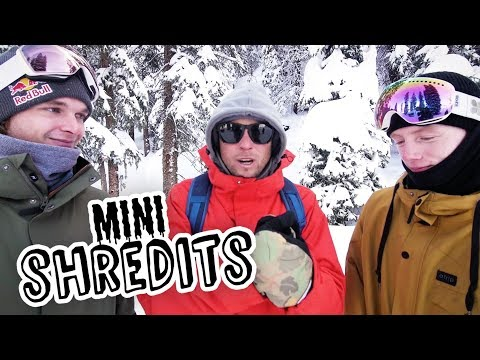 How many skiers can you spray while snowboarding? | MiniShredits S2E4 Seppe Smits vs Matt McCormick