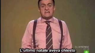 Berlusconi:  Razzista e maschilista (TG e satira in spagnolo)