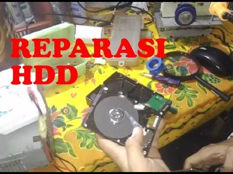 Reparasi HDD Yang Rusak
