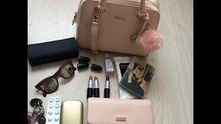 Что в моей сумке? Сумка в универ