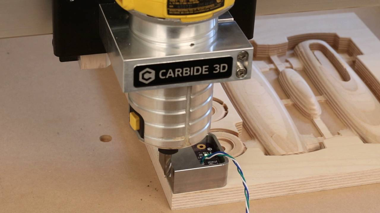 Shapeoko 3 Probing Test by Carbide 3D