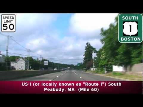 US-1 South to I-93: Boston, MA