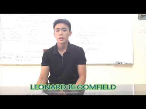 Leonard Bloomfield - Hoàng Hải - CL