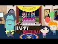 🎂Blue Man Singing Happy Birthday at the White House - Free Animated Ecard 🎂