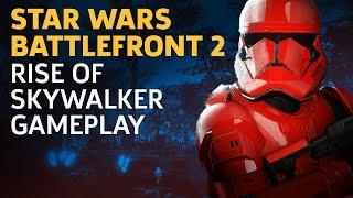 Star Wars Battlefront 2: Rise Of Skywalker DLC 60 Kill Streak Gameplay