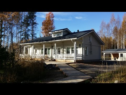 Haapaniemi rental cottage. Lakeside cabin. Fishing holidays in Finland.