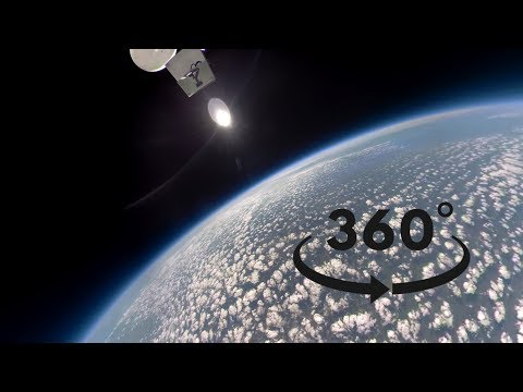 360 VR Hyperlapse to space – Gopro Fusion