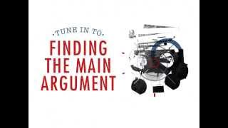Finding the Main Argขment in Academic Writing