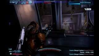 Mass Effect 3 MP - male Quarian Infiltrator + krysae sniper rifle
