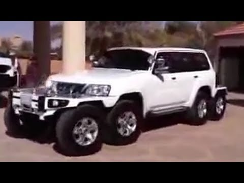 Nissan Patrol Белый Паук шейха Хамада