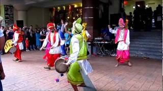 Deepavali dancers (Malaysian Bhangra Group)