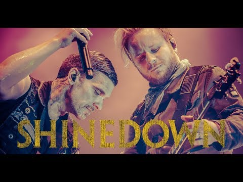 SHROOM - SHINEDOWN 'Get Up' LIVE Music Video