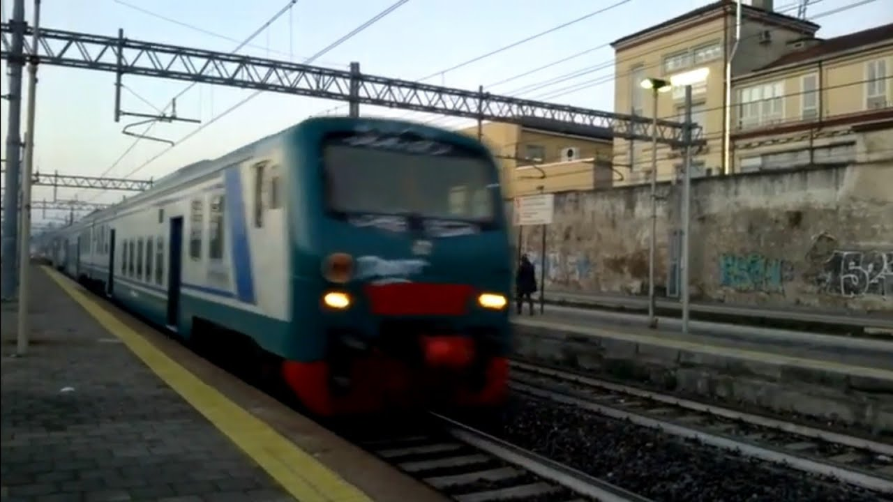 Treni a monza e464 072 trenord 6 piano ribassato trenord - Trenord porta garibaldi ...