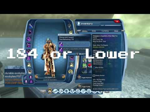 DCUO   Quickest Way to Reach CR 188 Non-Vendor Gear MAX CR & Explaining New CR System!