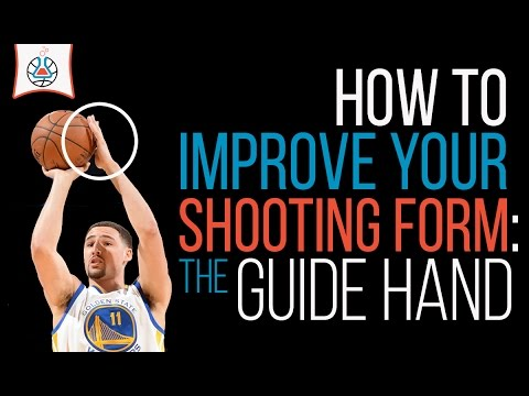 Improve your shooting form the guide hand youtube for How much to build a basketball gym