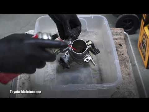 How to clean throttle body on Toyota Echo