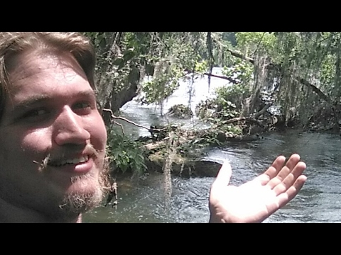 🔴LIVE Exploring By The River! Climbing under an Old Bridge!