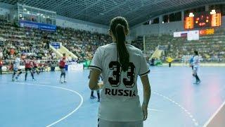 Великолепная Катя Ильина в матче против Турции