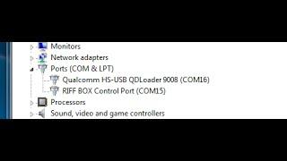instalação Qualcomm HS-USB QDLoader 9008
