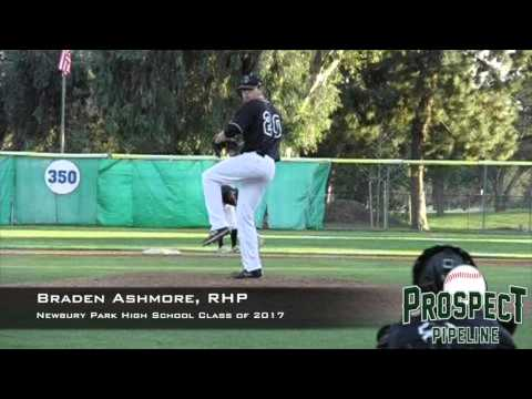 Braden Ashmore, RHP, Newbury Park High School, Pitching Mechanics at 200 FPS