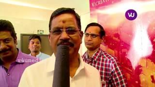 Kabali producer kalaipuliThanu  talks about Our Thalaivar super star rajini 's kabaliaudio&Santhosh