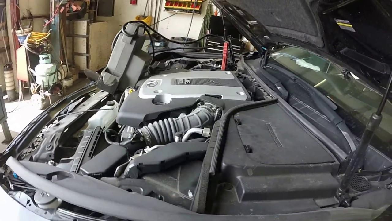 Infiniti 3.7 engine