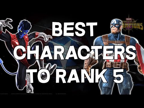 Best Characters To Rank 5! - Marvel Contest Of Champions