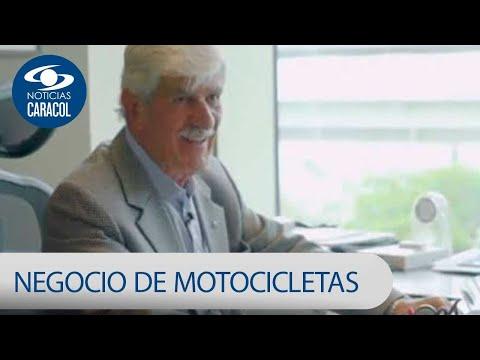 francisco-sierra,-quien-ha-impulsado-el-negocio-de-las-motocicletas-en-colombia-|-noticias-caracol