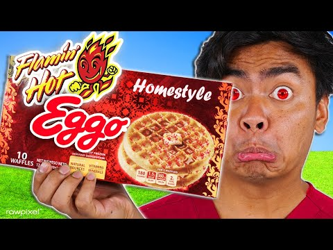 10 Flamin' Hot Snacks You Never Knew Existed..