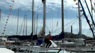 Hannah Silva: Boat on the water