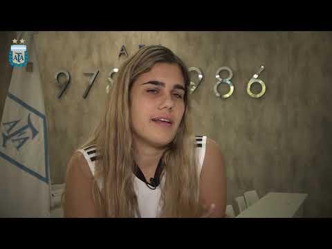 #SudamericanoSub20Femenino Nuestras representantes: Victoria Costa